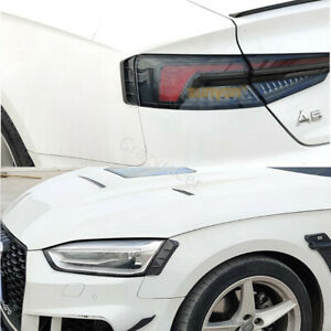 A5-B9-Carbon-Look-Headlight-Cover-Tail-Light-Trim-for-Audi-A5-B9-amp-S5-2017-20