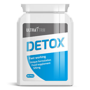 Details about ULTRA TRIM DETOX PILLS – CLEARS AWAY FAT AND WASTE BUILD UP  LOSE WEIGHT