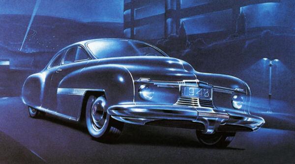 1948 Chrysler Concept Car - Promotional Advertising Poster