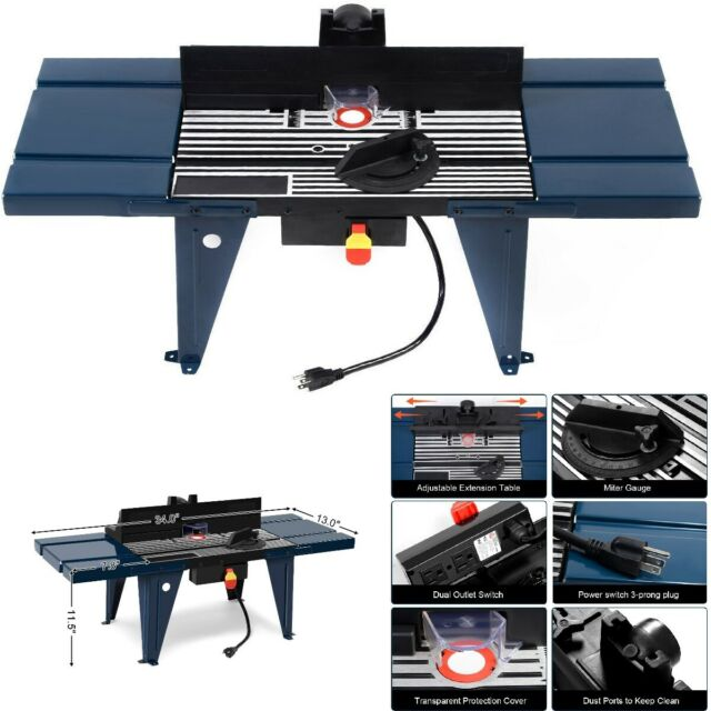 Fabulous Router Table Craftsman Woodworking Tool Electric Aluminium Benchtop W Extension Unemploymentrelief Wooden Chair Designs For Living Room Unemploymentrelieforg