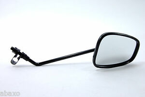 Heavy-Duty-Classic-Vintage-Bicycle-Handlebar-Bar-Rear-View-Mirror-Black
