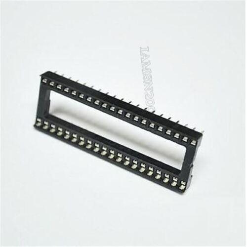 Elektronische Bauelemente 50 Stcke 40 Pin Dip Sockel Adapter ...