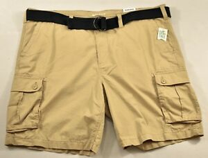 8ed6c96a74 men's Sonoma big tall cargo shorts size 46 beige web blet relaxed ...