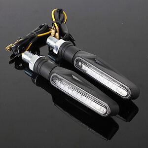 Motocicleta-Universal-Negro-LED-Indicadores-luz-senal-de-giro-IntermitenteAmbarK