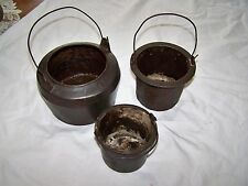 Antique Cast Iron Glue Melting Pot, Marietta & Co PA