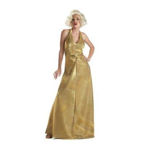 WOMANS COSTUMES Marilyn Monroe Golden glamour OR DELUXE Marilyn Adult  @MOREEEEE