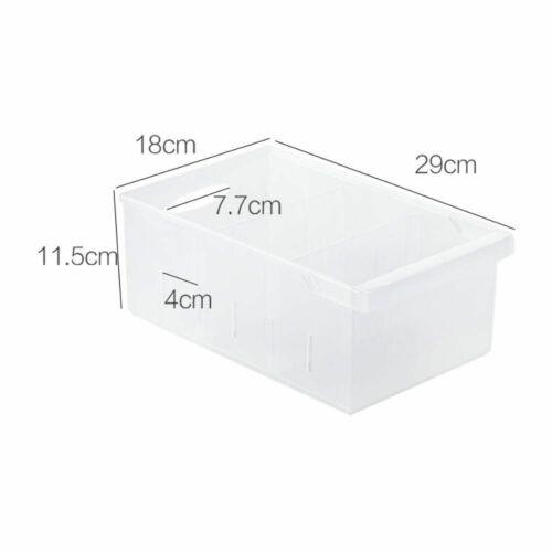 Details about  /Plastic Container Kitchen Organizer Refrigerator Fruits Veggies Food Storage Box