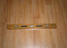 Vintage Craftsman Wooden 2Ft Carpenters Level-Craftsman Tools