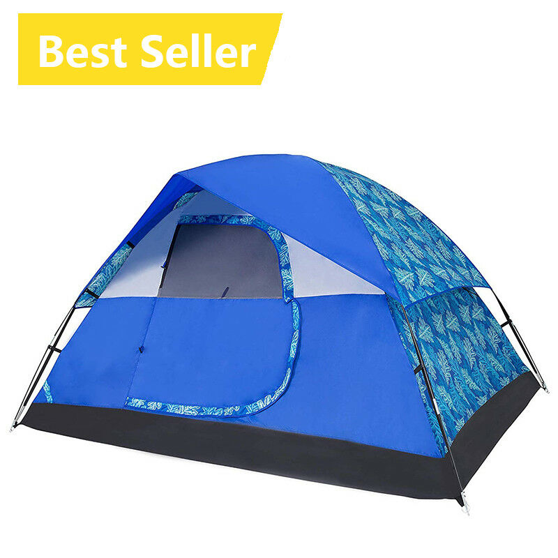 4 Person Oudoor Ultralight Camping Tent 3 Season Professional Rodless Tent Best