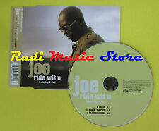 CD Singolo JOE RIDE WITH YOU G- UNIT Main 2003 PROMO JIVE no lp mc dvd vhs(S14)