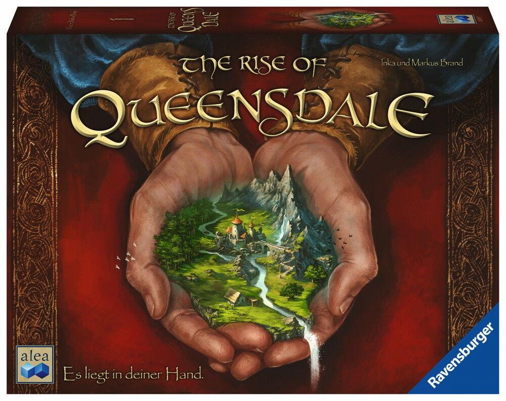Ravensburger Familienspiel alea Strategiespiel The Rise of Queensdale 26903