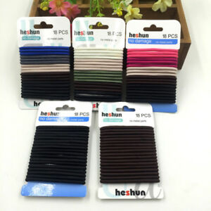 18pcs-Fashion-Elastic-Rope-Women-Hair-Ties-Ponytail-Holder-Head-Band-Hairbands