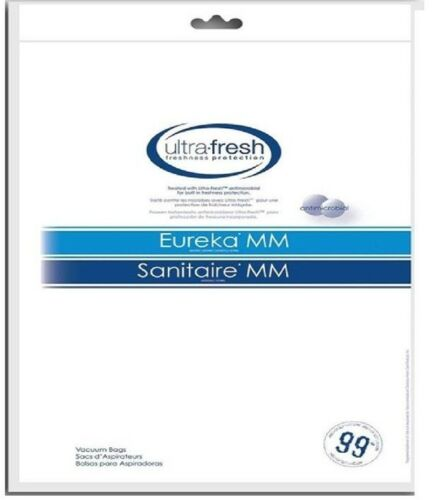 12 EUREKA MIGHTY MIGHT Style MM Anti Bacterial Micro Lined Vacuum Cleaner Bags