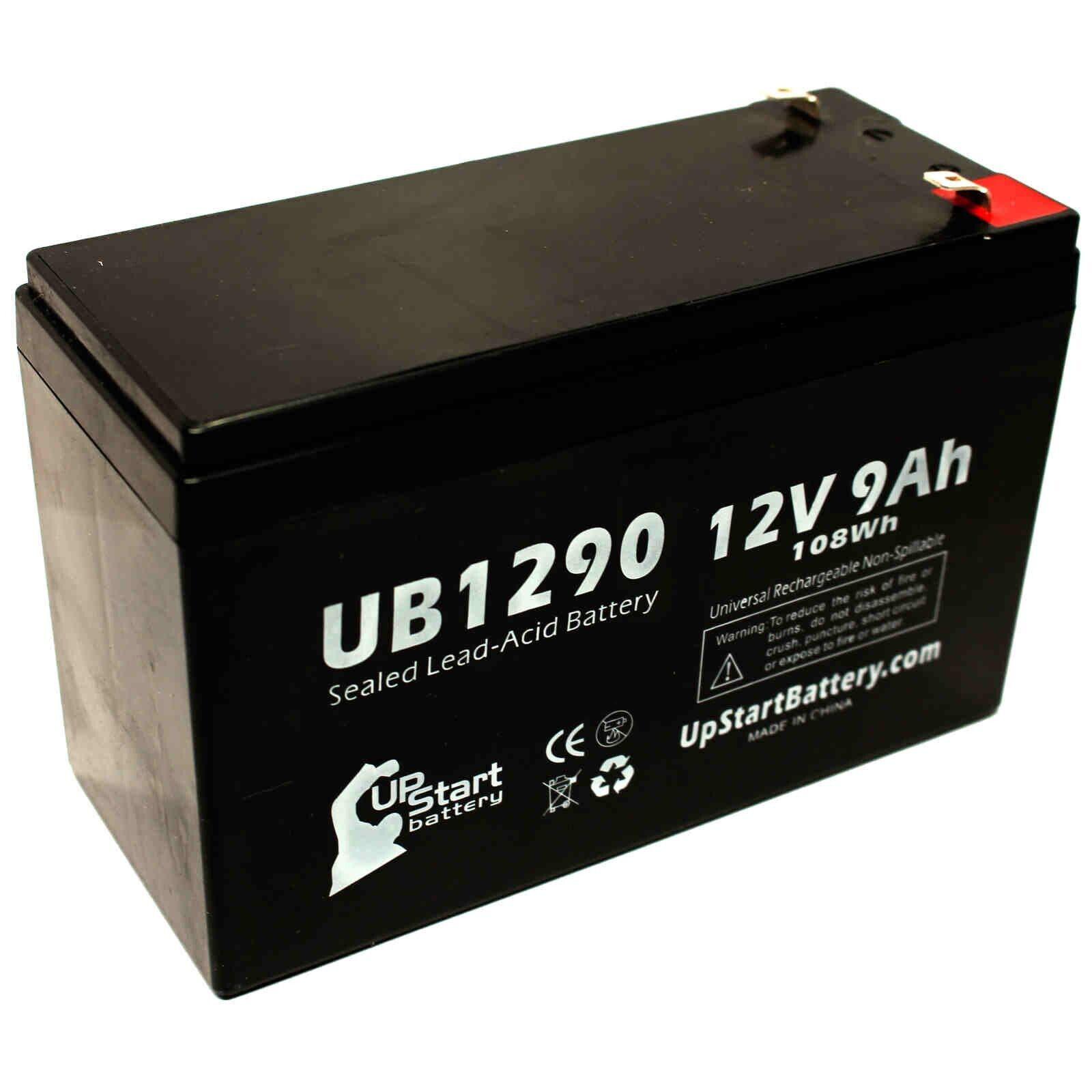 12V 9Ah Sealed Lead Acid Battery For APC BACK-UPS CS 500 BK500 UB1290