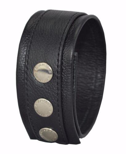 67350 oberarmband Echtleder Oberarm band Lederstulpe  Armband verstellbar Biceps