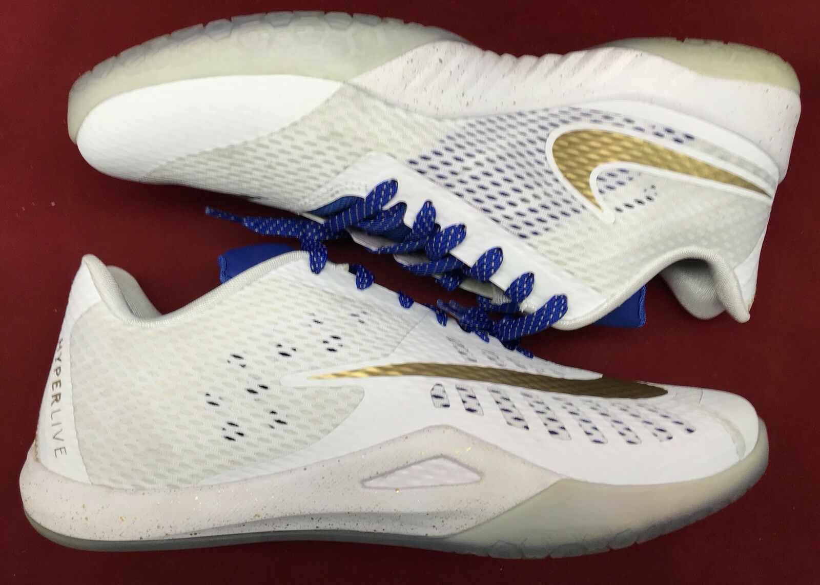 Nike hyperlive pe andre iguodala krieger das weiße gold sz. königsblau 864129-174 sz. gold 427cf3