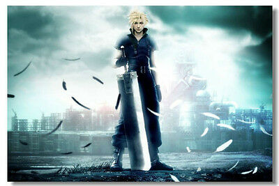 Final Fantasy VII HUGE  Poster  ( 30 inch x 20 inch ) FAST SHIPPING 107