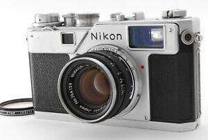 EXC-Nikon-S4-35mm-Film-Rangefinder-W-Nikkor-H-NIKKOR-H-50mm-f-2-from-JP