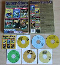 Super-Stars Pitfall Populous Moto Razer Vangers Anstoss Hero (PC, 1998, Big-Box)