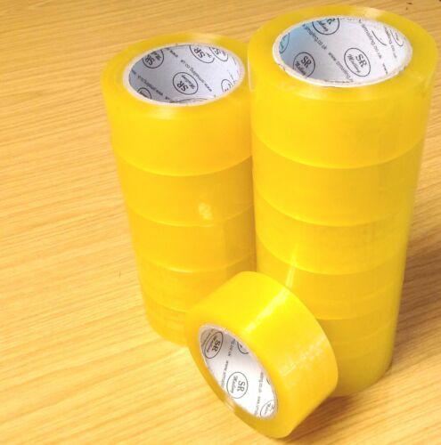 Forte nastro adesivo trasparente 45mm x 91m 100 Iarda pacco imballaggio imballaggio Sellotape statione