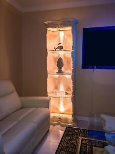 s ule vitrine stands ule verkaufsvitrine deko s ule vitrinen regal beleuchtet ebay. Black Bedroom Furniture Sets. Home Design Ideas