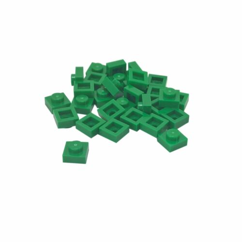20 NEW LEGO Plate 1 x 1 Green
