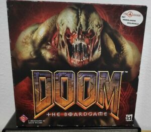 DOOM THE BOARDGAME BOARD GAME JUEGO DE MESA PRIMERA EDICIÓN 1st EDITION 2004