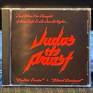 Judas-Priest-1997-2-Track-034-Jugulator-034-ULTRA-RARE-Radio-Station-Promo-CD-Single