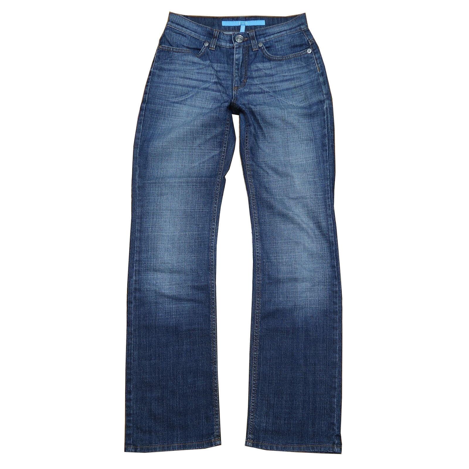 Esa Sport jeans-Linda-T 34 environ w25 l30-Hüftjeans aspect Use Mid Waist