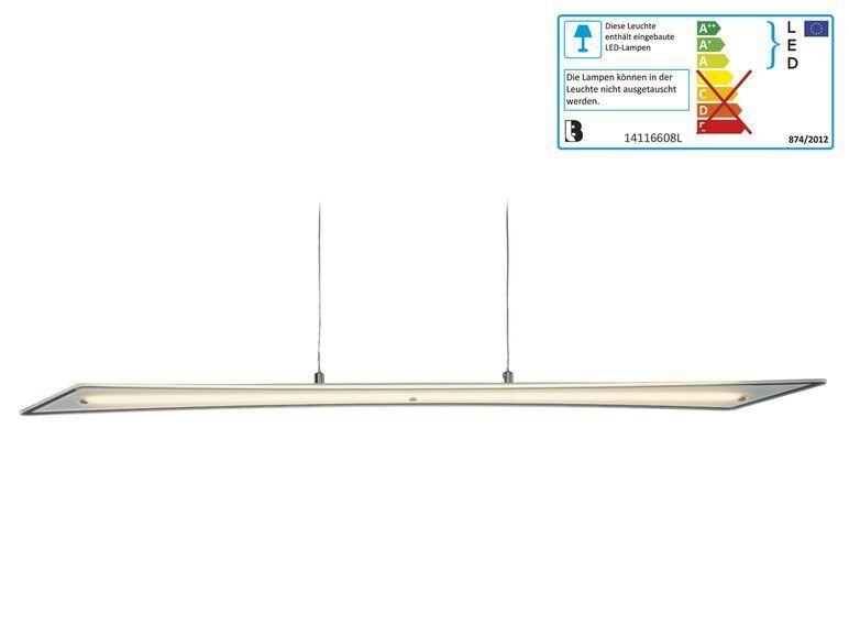 LED Lámpara de suspensión, Colgante Luz Techo Techo Techo Satinada Cristal 7fc3cb