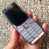 NOKIA E52 Mobile Cell Phone 3G Wifi Original Refurbished 3.2MP Smartphone Silver