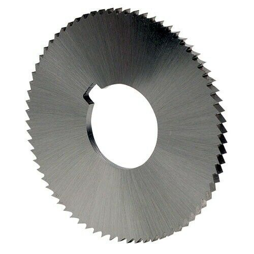 "HSS Slitting Saw Milling Round Cutter 4/"" Inch x 1//16/"" Inch x 1/"" Inch STR Tooth"