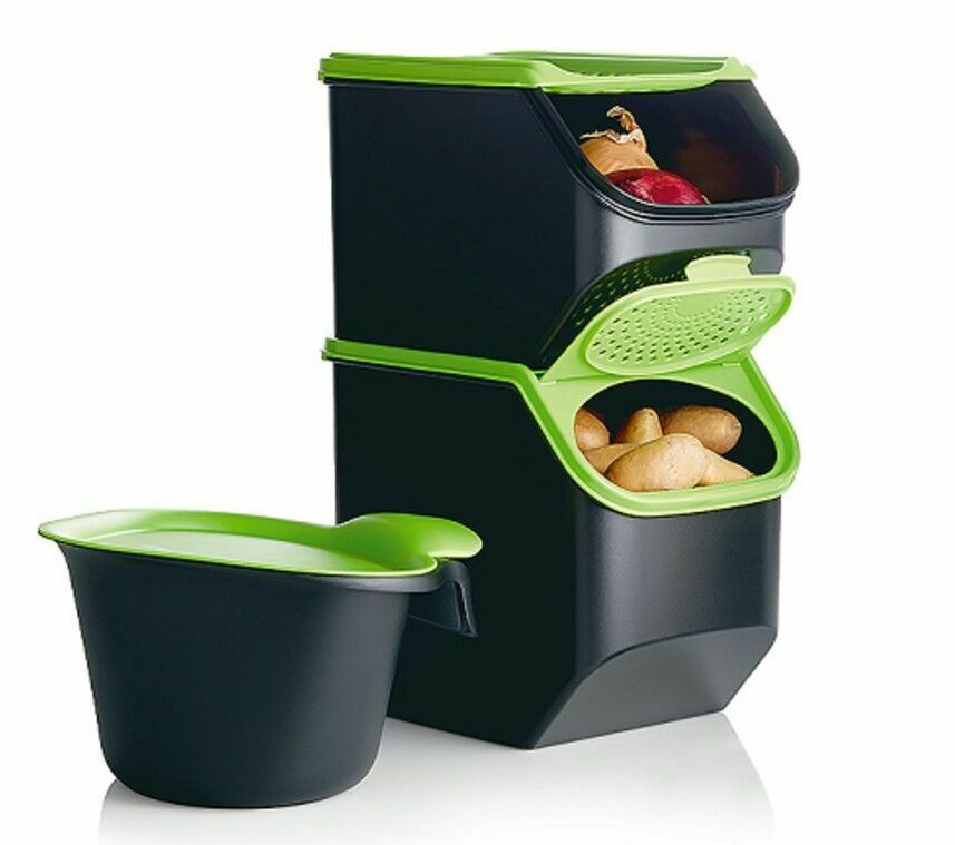 Set de 3 coffres intelligents TUPPERWARE neuf + cadeau offert