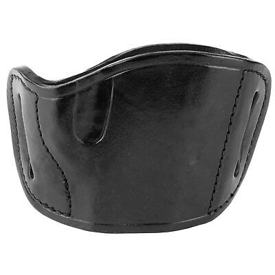 Bulldog Cases MLB-L Molded Leather Slide Holster Fits Large Frame Autos Black