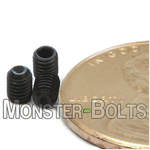 3mm x 0.50 x 4mm - Qty 10 - DIN 916 CUP Point Socket Set Screws Allen - M3 Grub