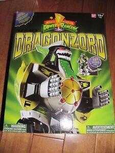 Power Rangers Legacy Dragonzord Bandai # 96846 Nouveau 45557968465