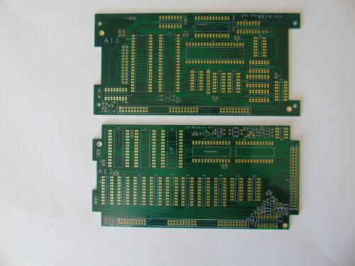 Set de 2 planches Fluke 9010 d/'un Z80 Pod Bare PCB Set plaqué or