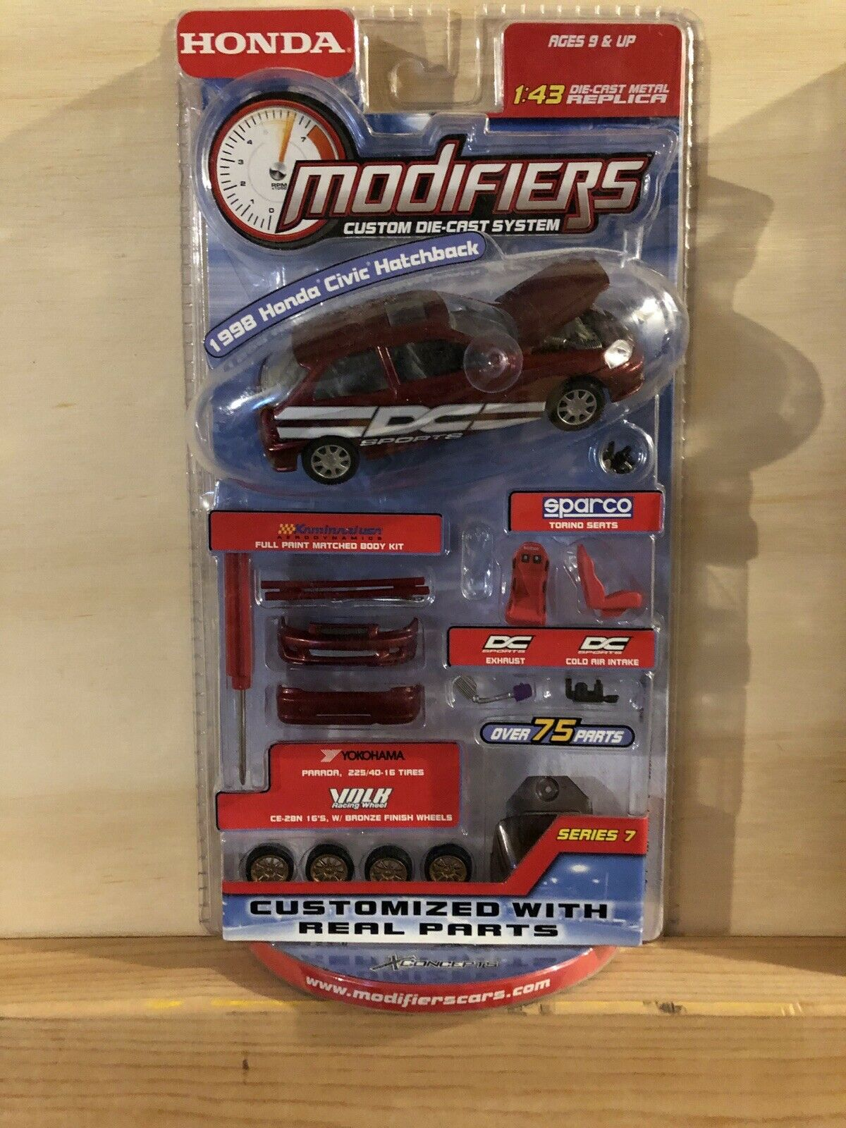 Modifiers Diecast - 1998 Honda Civic Hatchback