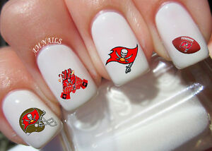 Image Is Loading Tampa Bay Buccaneers Nail Art Stickers Transfers Decals