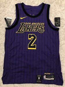 6a3c602684f Lonzo Ball Authentic CITY Nike Jersey 2018-19 - Large 48 Kobe Kuzma ...