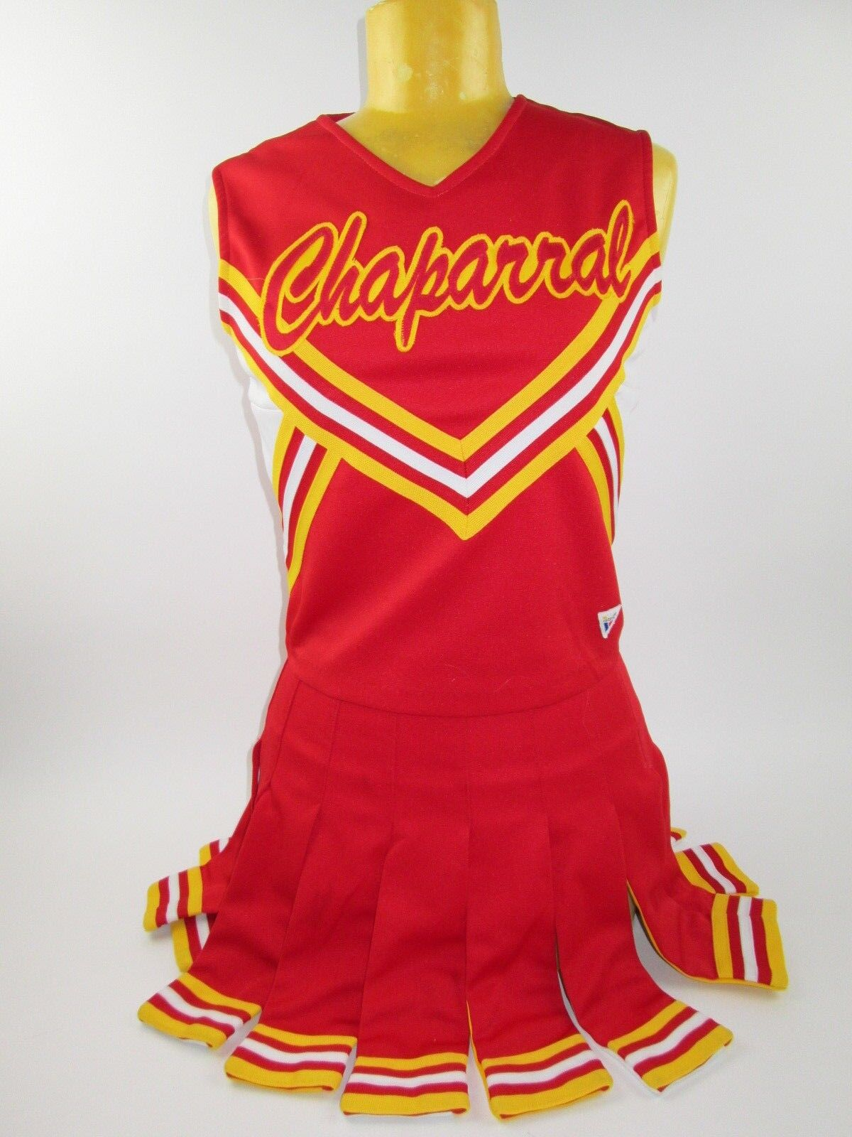 REAL Cheerleader Uniform Outfit Costumes Sizes 32-36  Top 23-27  Skirt Choose