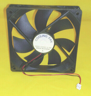 NEW 120mm x 25mm 2pin 12v DC 0.16A PC Power Supply Replacement Cooling Fan 12025