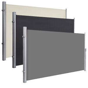 Seitenmarkise Ausziehbar Sichtschutz Windschutz Sonnenschutz Seitenrollo TÜV
