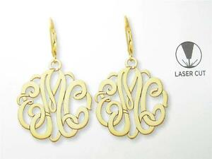 Image Is Loading Special Order 3 Letter Initial 14k Yellow Gold
