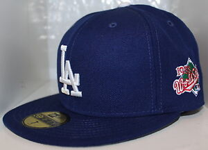 MLB Los Angeles Dodgers 1988 World Series New Era 59Fifty Fitted Hat ... 8d898c48610