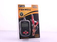 BATTERIA MOTO bt100 tester di Foxwell tutti 6 V & 12 V batterie