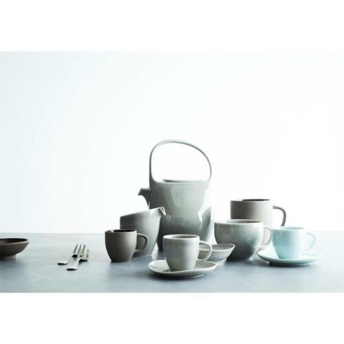 Rosenthal Junto Aquamarine Espresso-Untertasse 11,5 cm Mokkauntere Steinzeug