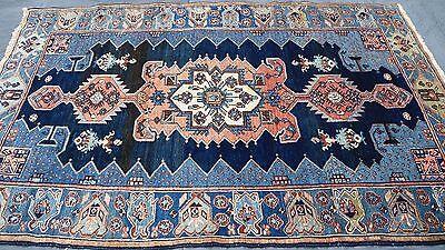 Orientteppich erlesener Perserteppich Nomaden Teppich alt semi antik 200x140 cm