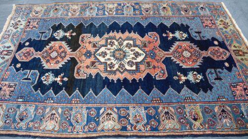 Orientteppich erlesener semi antiker Perserteppich Nomaden Teppich 200x140 cm