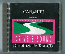 Car & Hifi cd DRIVE & SOUND Die offizielle Test-CD © 1990 Demonstration Test CD